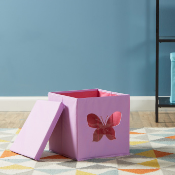 Butterfly Cut-Out Storage Box with Lid