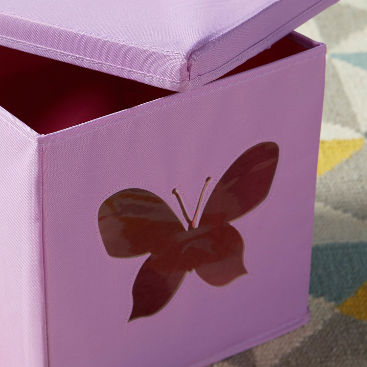 Butterfly Cutout Storage Box with Lid