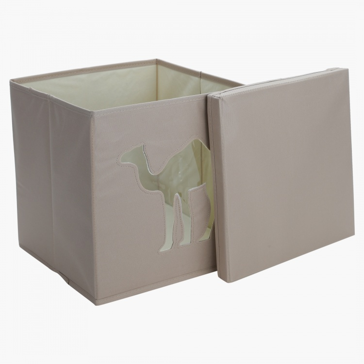 Camel Cut Out Storage Box with Lid