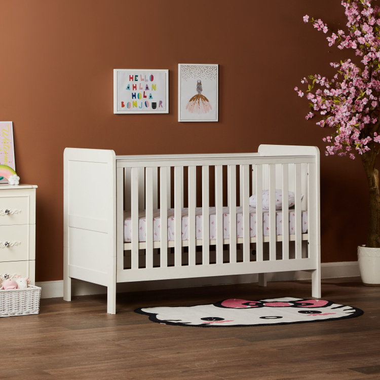 Little Darling Convertible Toddler Cot Bed - 70x140 cms