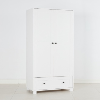 Little Darling 2-Door Wardrobe with 1-Drawer