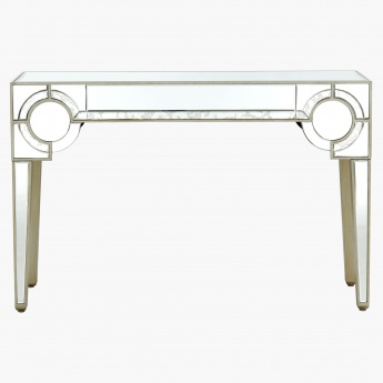 Mystique Mirrored Console Table
