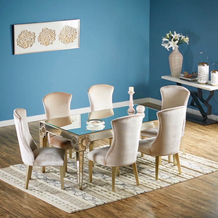 Mystique 6 Seater Dining Table Set