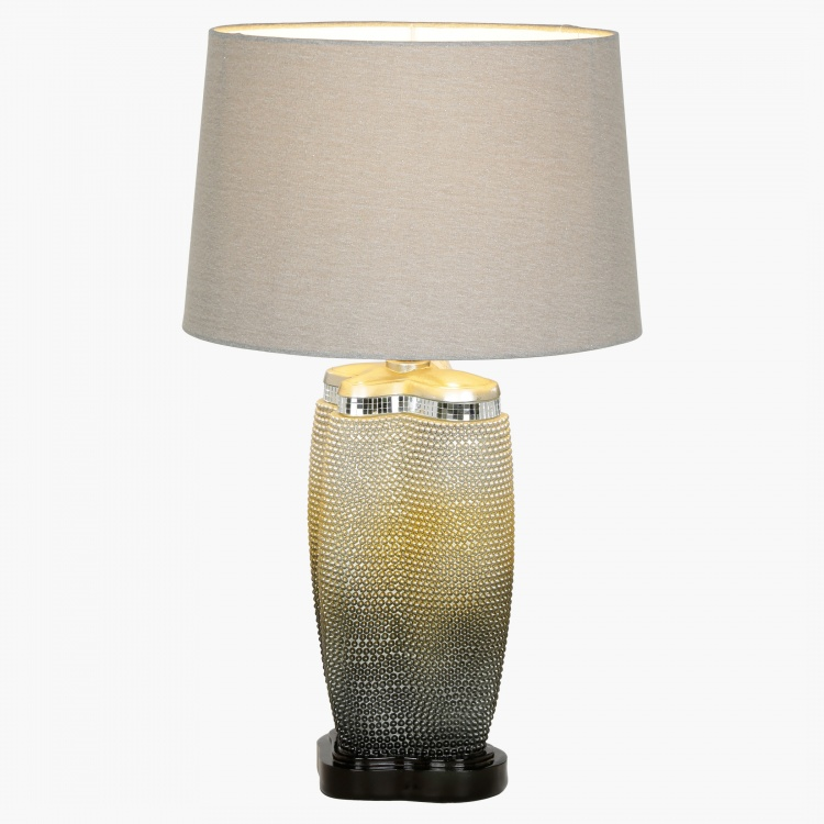 Sunset Pearl Polyresin Table Lamp