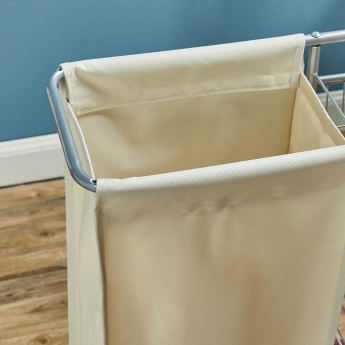 Laundry Trolley with 3 Shelves