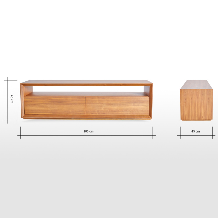 Eterno 2-Drawer TV Unit for TVs up to 55 inches