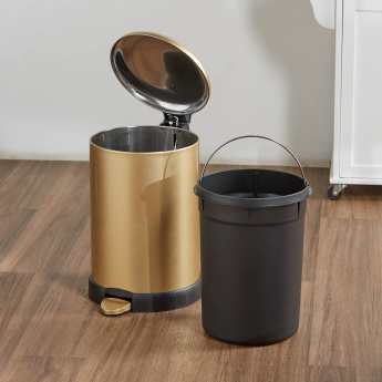 Soft Close Round Step Bin - 20 L