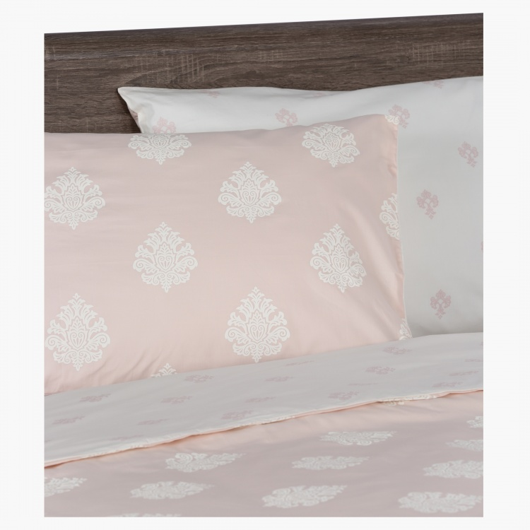 Reeve Printed 3-Piece Duvet Cover Set - 230x220 cms