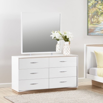 Crescent 6-Drawer Dresser