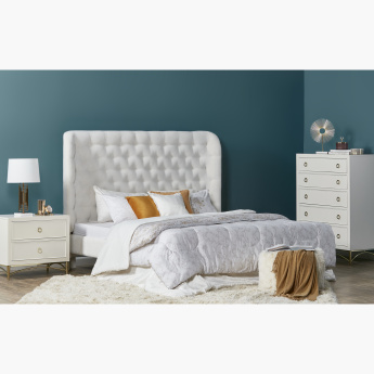 Adele Super King Bed - 200x210 cms