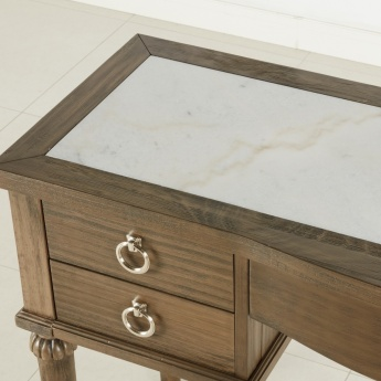 Lexington 5-Drawer Dressing Table with Marble Top