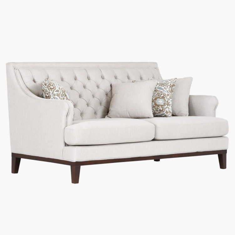 Sophia 2-Seater Fabric Sofa