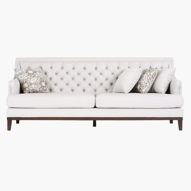 Sophia 3-Seater Fabric Sofa