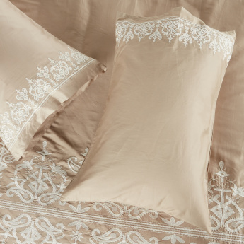 Valencia Embroidered 3-Piece Duvet Cover - 230x220 cms