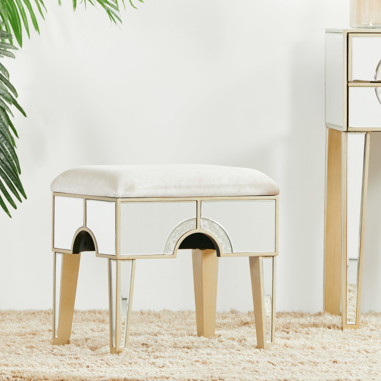 Mystique Mirrored Stool
