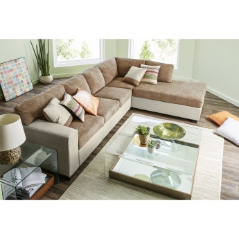 Peachy Jumbo Corner Sofa With Right Salak Caraccident5 Cool Chair Designs And Ideas Caraccident5Info