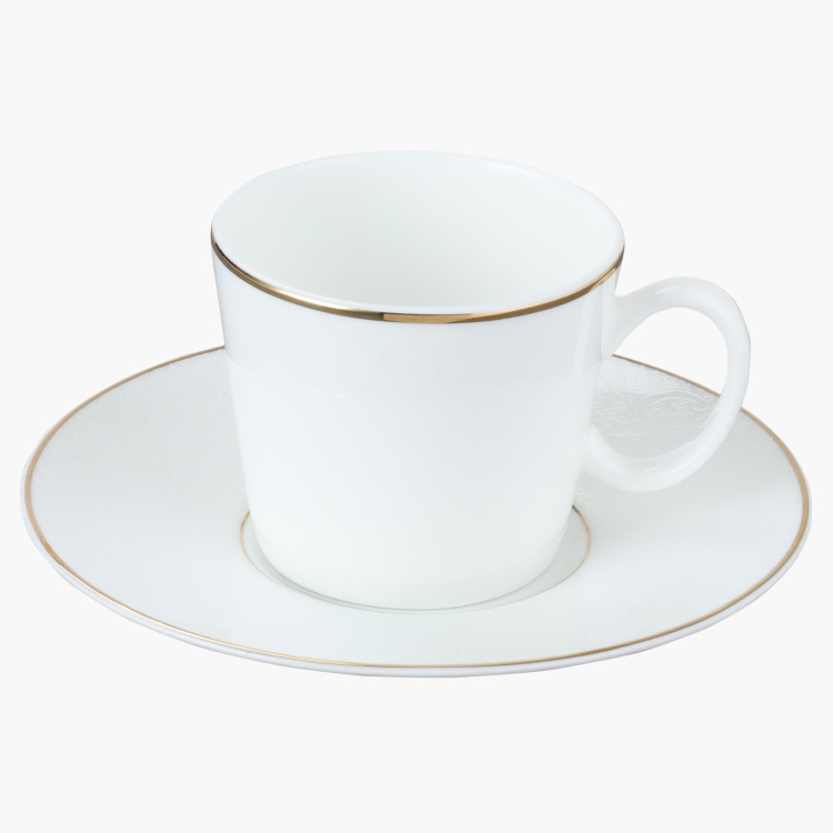 Noble Espresso Cup and Saucer Set