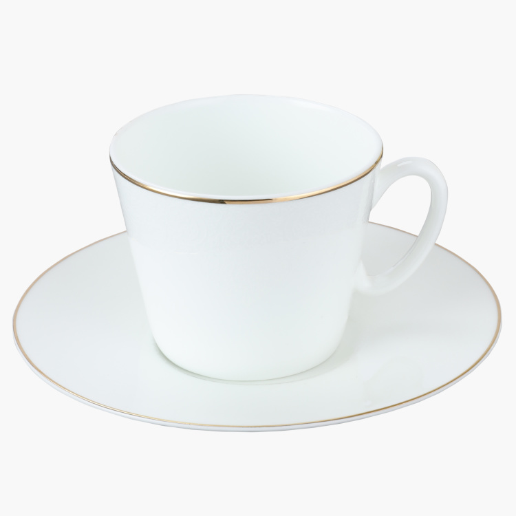Noble Tea Cup and Saucer Set