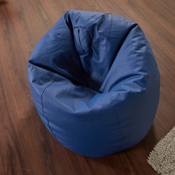 Faux Leather Bean Bag