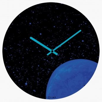 Neila's Glow in the Dark Space Round Clock
