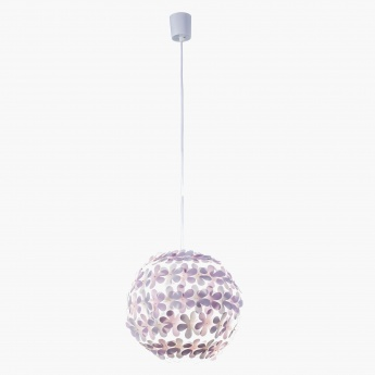 Lilac Pendant Electric Lamp