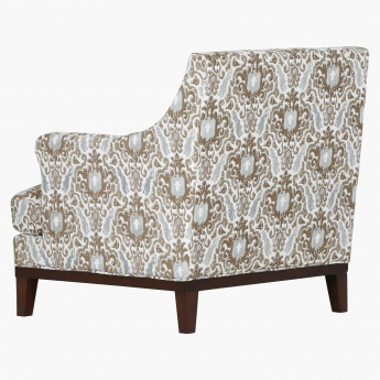 Sophia 1-Seater Tufted Armchair with Scatter Cushions