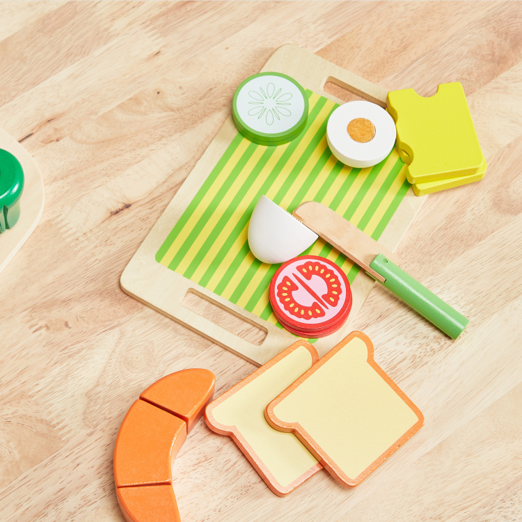 Charlene's Chopping Block Lunch Set