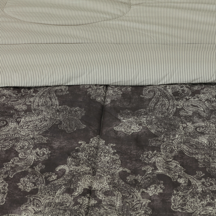 Verona Printed 5-Piece Queen Comforter Set -  200x240 cms
