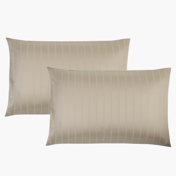 HygroTencel Printed 2-Piece Pillow Cover Set - 75x50 cms