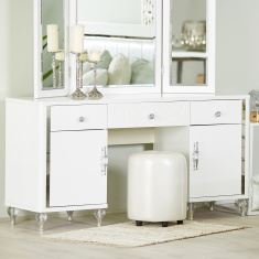 Celestia 3-Drawer Dressing Table with 2-Doors