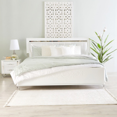 Celestia King Bed with Tufted Headboard - 180x210 cms