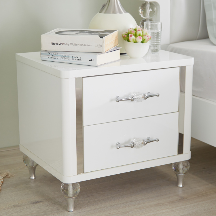 Celestia 2-Drawer Night Stand