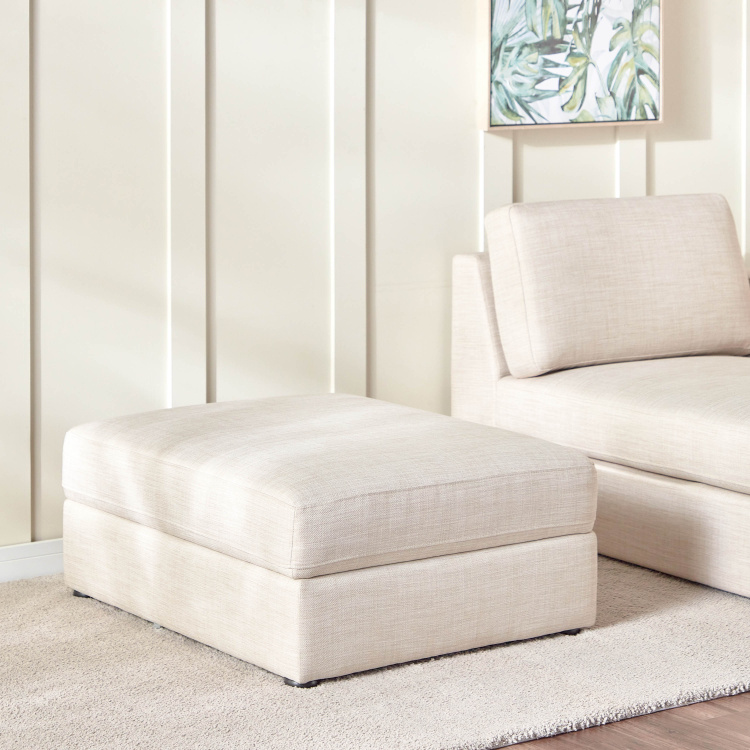 Eterno Fabric Storage Ottoman