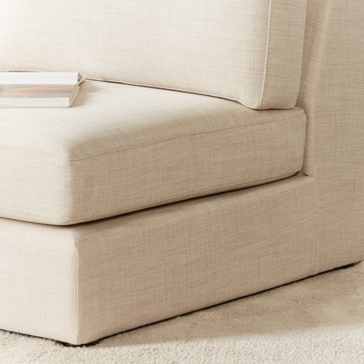 Eterno 2-Seater Armless Fabric Sofa