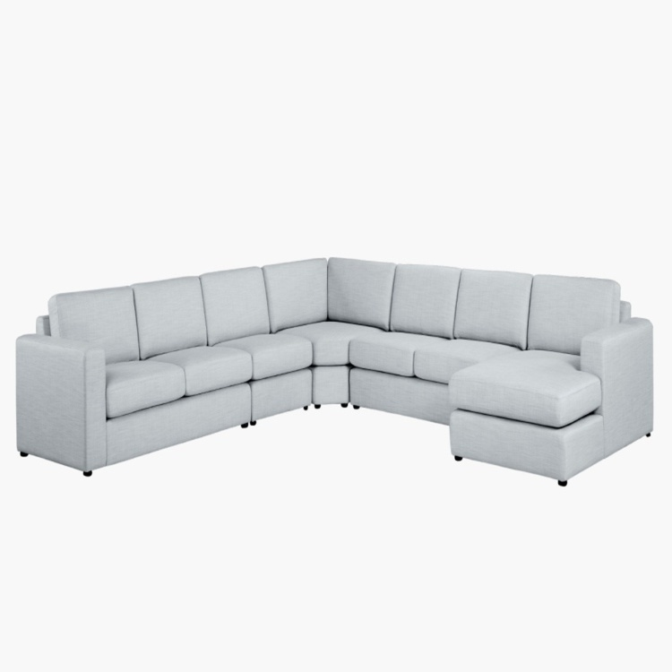 Eterno Fabric Armless Sofa