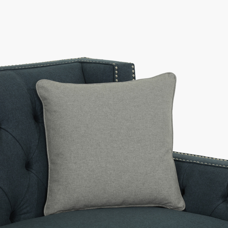 Turin Tufted 2-Seater Sofa with Scatter Cushions