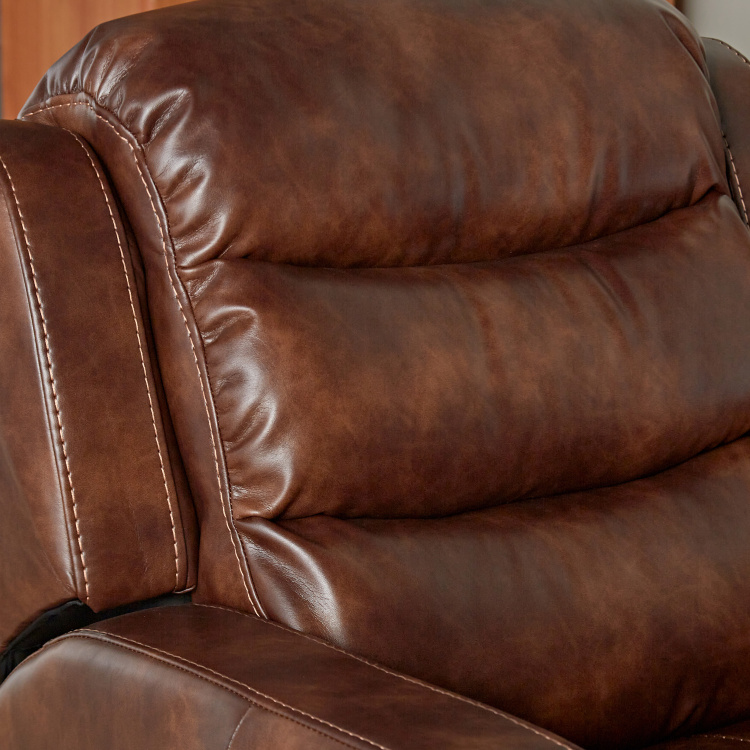 Chaplin Faux Leather Manual Recliners