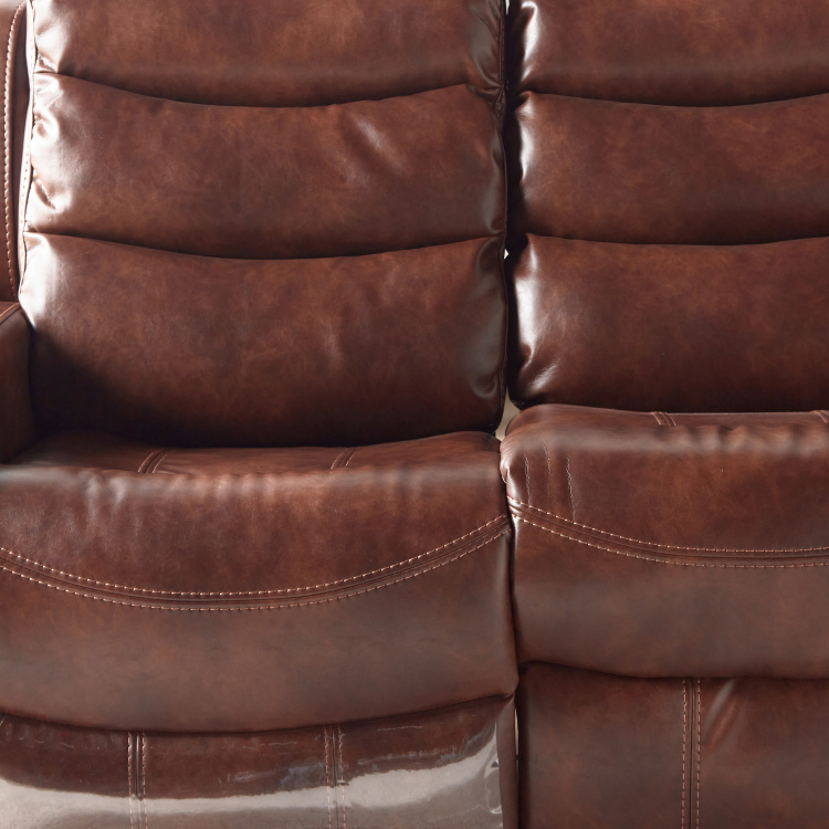 Chaplin 2-Seater Faux Leather Manual Recliners