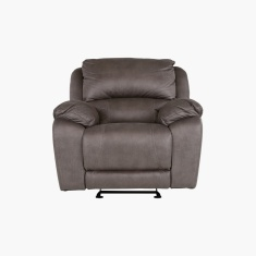 Turin Finden Recliner Sofa with Scroll Arms