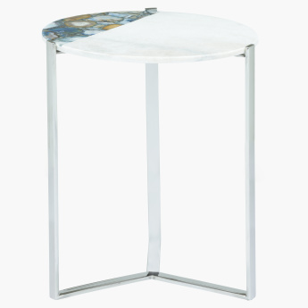 Agate Decorative End Table