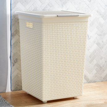 Adric Laundry Hamper with Cutout Handles
