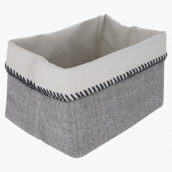 Textured Storage Basket - Large