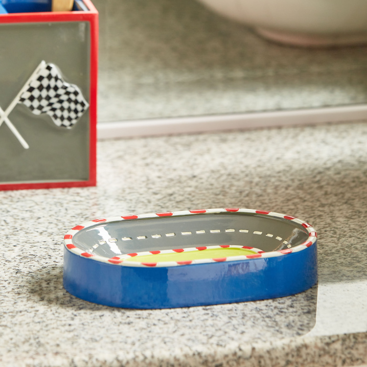 Champion Racer Polyresin Soap Dish