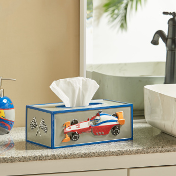 Champion Racer Tissue Box Holder