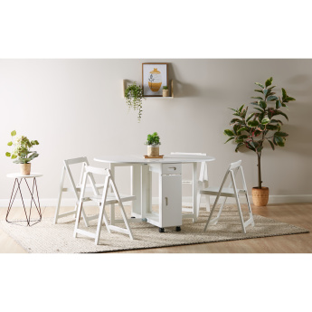 Butterfly Utility 4-Seater Dining Set