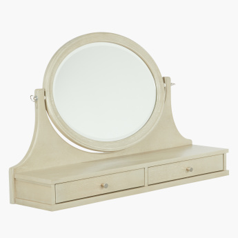 Kiera 2-Drawer Dresser Mirror