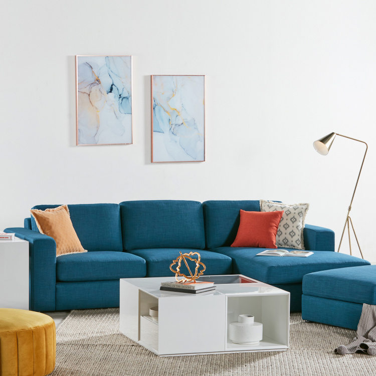Eterno 2-Seater Fabric Sofa