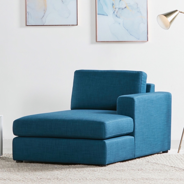 Eterno Fabric Right Chaise