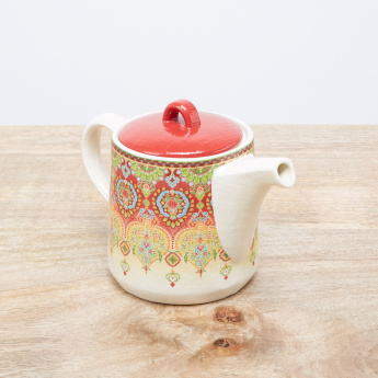 Ottoman Printed Teapot with Lid - 350 ml