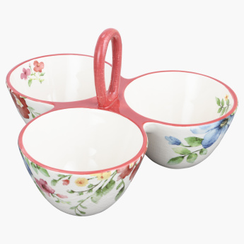 Spring Flower 3-Cup Serving Bowl